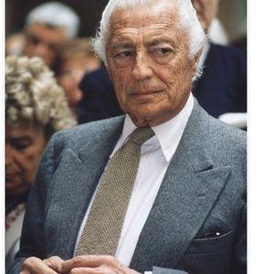 The late great fashion icon Gianni Agnelli